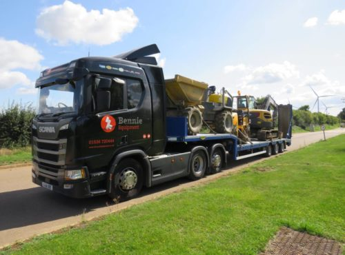 Bennie low loader
